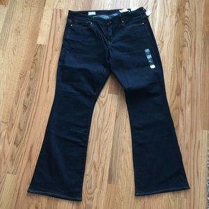 Gap 1969 curvy jeans size 33r (16 regular)